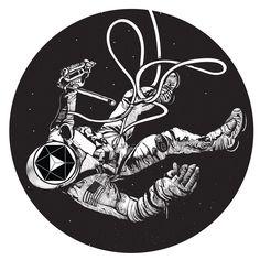 astronaut-circle-print.jpg (2400×2400)