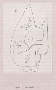Paul Klee ~ Engel - befruchtet ~ 1939