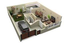 Renders 3D - Arquitectura virtual