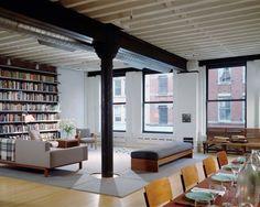 Tribeca Loft by Ike Kligerman Barkley Architects