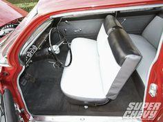 Chevrolet Biscayne Fleetmaster Interior