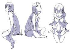 Drawing Body Poses, Drawing Skills, Drawing Sketches, Character Poses, Character Drawing, Character Design, Manga Poses, Anime Poses, Drawing Base