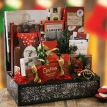 Christmas Splendor Christmas Gift Basket