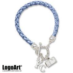 Kansa City Royals Devotion Bracelet by LogoArt - MLB.com Shop