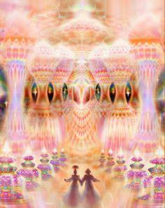 spirituality art - Spiritual Balance ~ Becoming Aware of Your Essence Fantasy Landscape, Fantasy Art, Visionary Art, Psychedelic Art, Fractal Art, Sacred Geometry, New Art, Mystic, Artsy