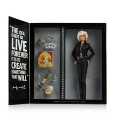 I imagine Layla playing with this as a kid! MATTEL Warhol Barbie | Bloomingdale's