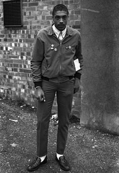 English rude boy in the 70s. Bob Marley was a rude boy in the 60s