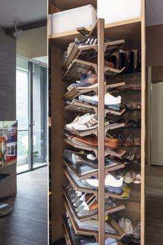 Schuhaufbewahrung Ideen schuhschrank selber bauen eine kreative schuhaufbewahrung idee