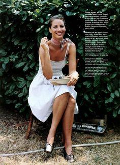 ☆ Christy Turlington | Photography by Pamela Hanson | For Jane Magazine US | November 1998 ☆ #Christy_Turlington #Pamela_Hanson #Jane_Magazine #1998