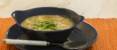 Sopa detox de inhame com espinafre - Lucilia Diniz