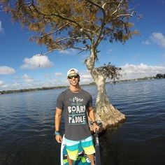 "We think Tom lives on the water and only spends a little time on land!? Wouldn't we all love to live this way! Thanks for your #SUPport too rocking our new #livelovesup ""Board and Paddle"" tee! 👕🤙 #standuppaddle #suplifestyle #sup #paddleboardorlando #supflorida #paddletheworld #dowhatyoulove #lifeisbetteronthewater #supconnect #suplife #paddleboarding #livelife"