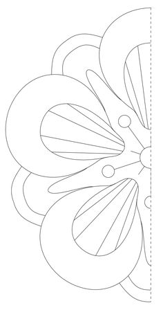 Ohm symbol pattern. Use the printable outline for crafts