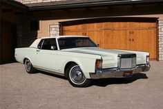 Lincoln MKIII (from my collection)