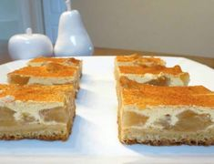 Apple And Sour Cream Slice Recipe