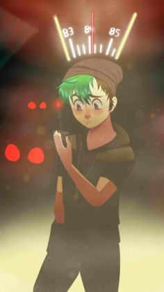 Oxenfree Jacksepticeye!! Great art! :)