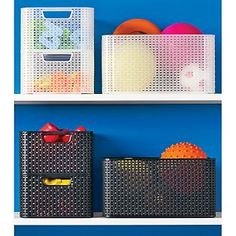 The Container Store > Large Basketweave Bin