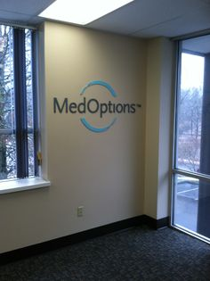 MedOptions Interior Sign Done By Sign Pro Inc.