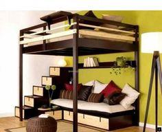 Hochbett Erwachsene 140x200 : Modern hochbett für erwachsene aeenebahai