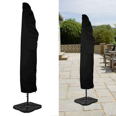 offset patio umbrella cover brown outdoor pinterest offset
