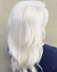 Ice Blonde - Platinum Blonding using OYA Professional Color (hair by Mark Heavener- Salon Heavener)