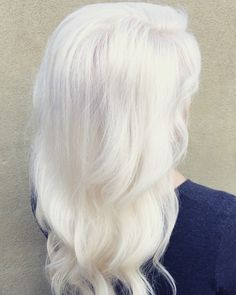 Ice Blonde - Platinum Blonding using OYA Professional Color (hair by Mark Heavener- Salon Heavener)