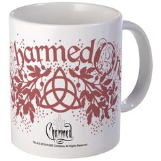 Charmed Mug on CafePress.com - Charmed One with triquetra symbol and vines