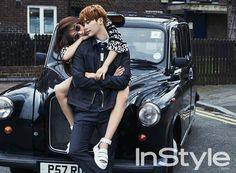 Park Shin-hye & Lee Jong-seok / InStyle Korea