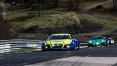 Twin Busch Motorsports started with the Audi R8 LMS ultra and the pilots Dennis and Marc Busch at the ADAC 24-hour qualifying race in the long distance 2015 season at the Nürburgring on 11/12 of April. The goal for the weekend was extensive tyre tests.
