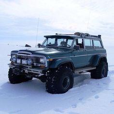 Icelandic Jeep