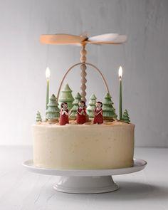 Gingerbread Layer Cake with Creamy Mascarpone Frosting - Martha Stewart Recipes