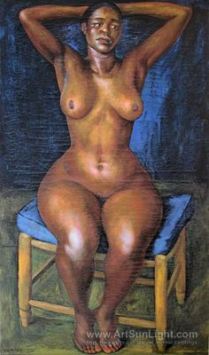 Dancer in repose, Bailarina en reposo - Diego Rivera