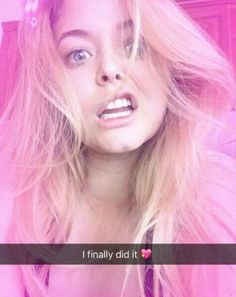 Sasha finally got a snapchat ! Her name is: ITSMESASHAP