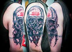 A arte do tatuador Jay Van Gerven