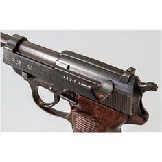 WWII Era Mauser P.38 Semi-Automatic Pistol