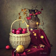 Autumn Still Life - Art Prints Small Canvas Prints, Framed Art Prints, Still Life Fruit, Painting Still Life, Kitchen Art, Food Illustrations, Still Life Photography, Canvas Frame, All Art