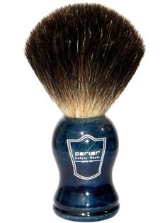 Parker Safety Razor Black Badger Bristle Shaving Brush with Blue Wood Handle Free Stand Just ordered this! Can't wait to get it! Badger Shaving Brush, Wet Shaving, Shaving Set, Best Shave, Hair Removal Cream, Safety Razor, Blue Wood, Clean Face