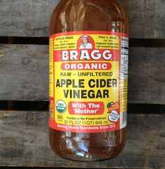 Apple cider vinegar truly is an amazing medicine. Simply mix two tablespoons of apple cider vinegar with 4 tablespoons of water. Add in two tablespoons of honey and mix.
