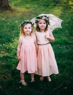 Bohemian Babies flower girl dresses