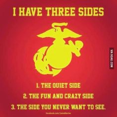 The truth about all of usYou can find Usmc quotes and more on our website.The truth about all of us Marine Corps Quotes, Marine Corps Humor, Usmc Quotes, Military Quotes, Us Marine Corps, Military Humor, Military Terms, Military Signs, Military Ranks Marines