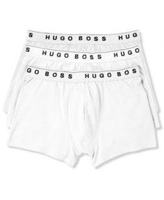 Boss Men's Underwear, Cotton Trunk 3 Pack - Gray L. Underwear OnlineMen's  UnderwearContemporary ClassicHugo ...