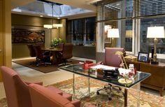 """""""the good wife"""" set - diane's office"""