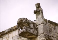 Chichen Itza - The most recognizable structure here is the Temple of Kukulkan, also known as El Castillo.