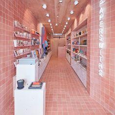 "Papersmiths store by studio b, london - uk "" retail design b Retail Interior Design, Boutique Interior Design, Retail Store Design, Cafe Interior, Retail Stores, Uk Retail, Architecture Restaurant, Interior Architecture, Aesthetic Stores"