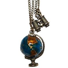 The Globetrotter Necklace <3