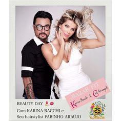 NOVIDADE !!! Quer ter um BEAUTY DAY comigo e meu hairstylist e make-up artist @fabinhoaraujo ?!!! VC PODE ADQUIRIR ESSA EXPERIÊNCIA e ainda colaborar com a @ongflorescer !! SE INTERESSOU ?! Veja os detalhes : BEAUTY DAY com Karina Bacchi e Fabinho Araújo ! Vc tem direito à corte hidratação escovação manicure pedicure e  make-up ! Agendamento com validade até 21 julho/2016  Local :São Paulo Salão : Criar by Fabinho Araújo Agendamento sujeito a disponibilidade dos profissionais. Experiência…