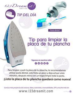 Ahora podrás limpiar y pulir tu plancha con un poco de pasta dental, da click en la imagen para conocer este tip.