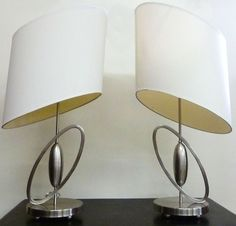 Cool Looking Lamps rougier tulip lamps pair vintage 80's modernist from mcmodern