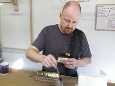 Many students discover traditional water gilding for the first time during classes which take everyone through each of the steps involved in this ancient technique of gold leaf gilding. New Class, Photomontage, Gold Leaf, Seattle, Students, Nyc, Leaves, Traditional, Learning