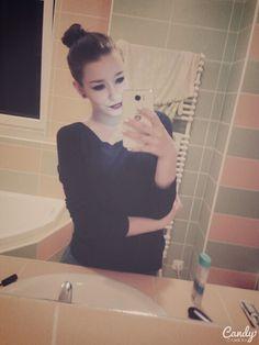 #Hairstyle #bun #makeup