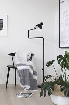 Via The Design Chaser | Minimal | Scandinavian | Black and White